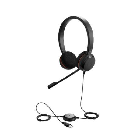 Jabra EVOLVE 20 MS Stereo USB Headband