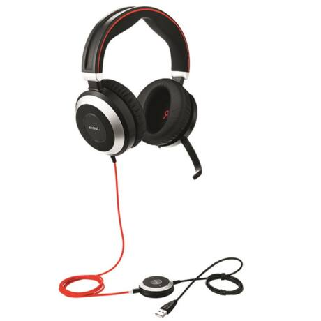 Jabra EVOLVE 80 MS Stereo USB Headband