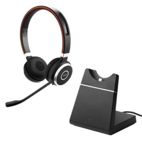 Jabra Evolve 65 MS Mono inkl. Charging stand & Link 370
