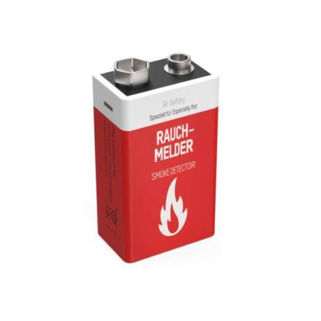 ANSMANN 9V lithium elem füstjelzőbe/szén-monoxid érzékelőbe
