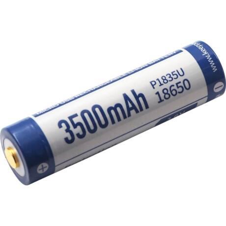 KeepPower 18650 3,7V 3500mAh védett Li-ion akkumulátor USB