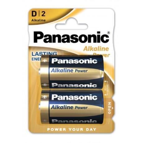 Panasonic Alkaline Power D/góliát 1.5V alkáli/tartós elemcsomag