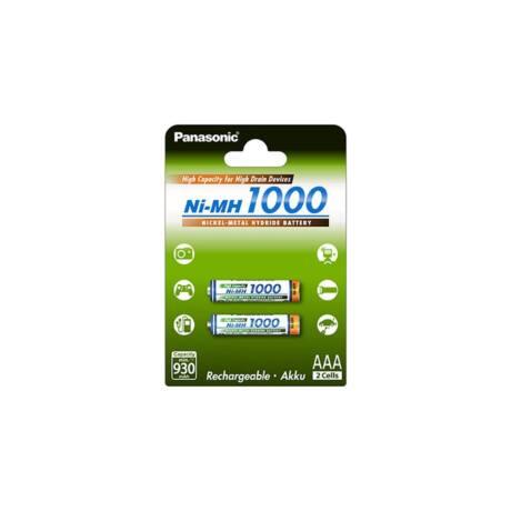 Panasonic  BK-4HGAE/2BE AAA 1000mAh Ni-MH akkumulátor