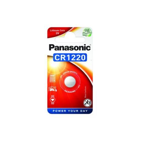 Panasonic CR1220 lítium gombelem (1db / bliszter)