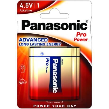 Panasonic Pro Power 4.5V lapos alkáli/tartós elem