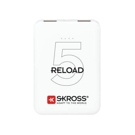 SKROSS Reload5 5Ah power bank USB/microUSB kábellel, két kimenettel