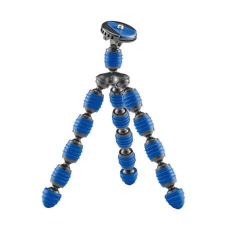 Cullmann Alpha 300 flexibilis lábú miniállvány, 3 féle színben (szürke,lila, kék)