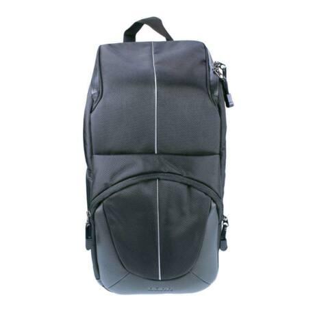 Dörr Yuma félvállas hátizsák fekete/ezüst