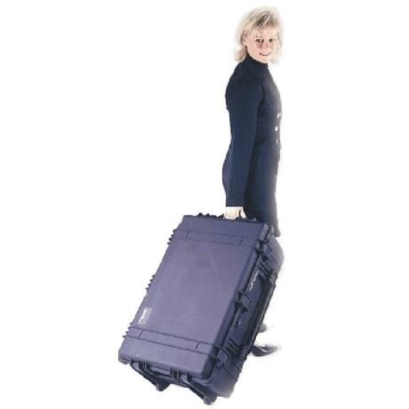 Peli 1650 víz- és ütésálló táska előmetszett szivacsbetéttel, fekete