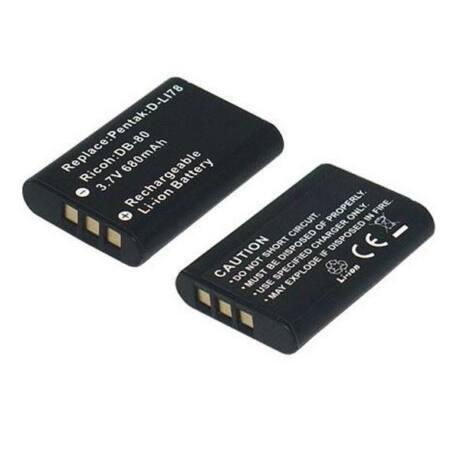 Dörr akkumulátor, Nikon EN-EL11 / Pentax D-Li78 / Ricoh DB-80-nak megfelelő