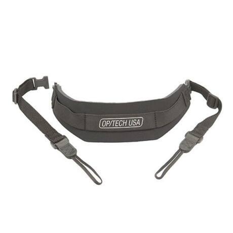 OpTech USA Pro Strap nyakpánt fix csatlakozással, fekete