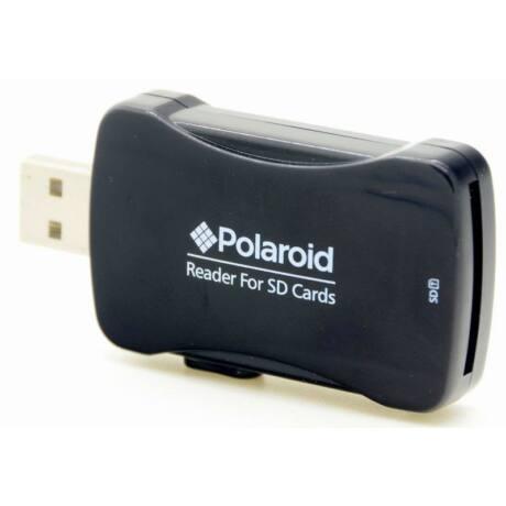 Polaroid SD-kártyaolvasó kitolható USB-csatlakozóval
