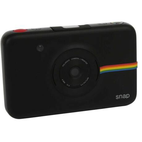 Polaroid Snap instant fényképezőgép és fotónyomtató, 10 darab Matricás Fotópapír, fekete
