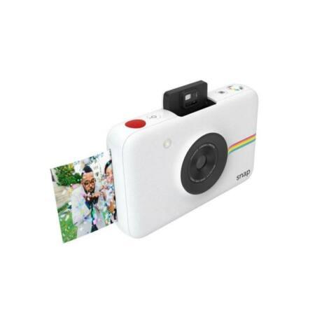 Polaroid Snap instant fényképezőgép és fotónyomtató, 10 darab Matricás Fotópapír, fehér