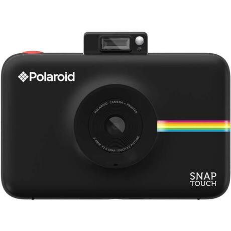 Polariod Snap Touch Instant Fényképezőgép, Mobilprinter (Android/IOS),Kijelző 3,5'' Fekete 10 Papír