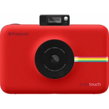 Polariod Snap Touch Instant Fényképezőgép, Mobilprinter (Android/IOS),Kijelző 3,5'' Piros, 10 Papír
