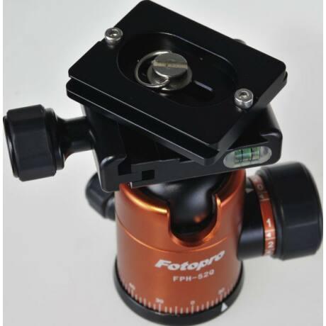 Rollei Fotopro QAL-50 gyorscseretalp (2 db), fekete Arca kompatibilis