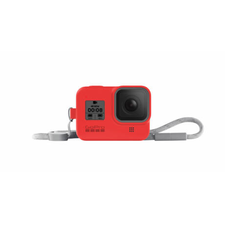 GoPro Sleeve + Lanyard (Hero8 Black) - Firecracker Red