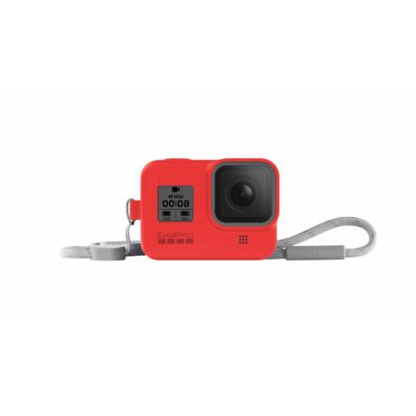 GoPro Sleeve + Lanyard (Hero8 Black) - Firecracker Red