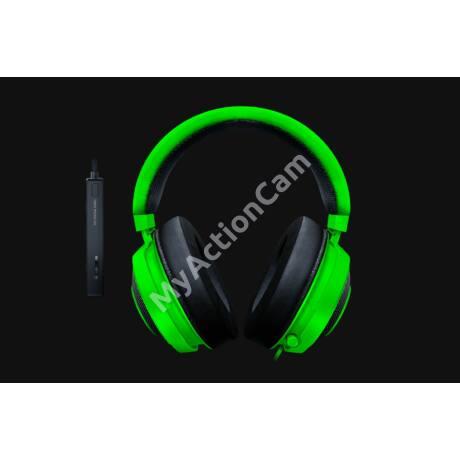 Razer Kraken Tournament Ed. Green - Oval headset