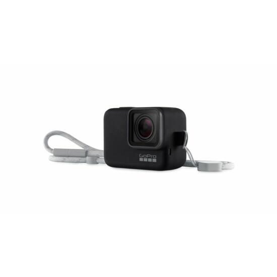 GoPro Sleeve + Lanyard - Black