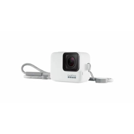 GoPro Sleeve + Lanyard - White