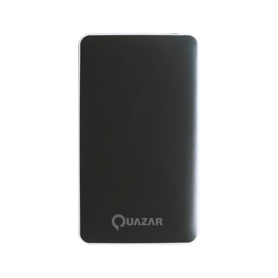 Quazar Spaceship 12000mAH powerbank fekete