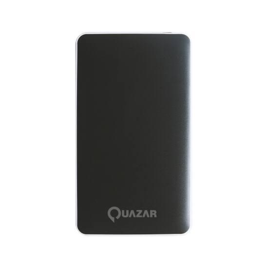 Quazar Spaceship 12000mAH powerbank fekete