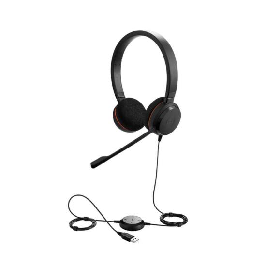 Jabra EVOLVE 20 MS Stereo USB Headband