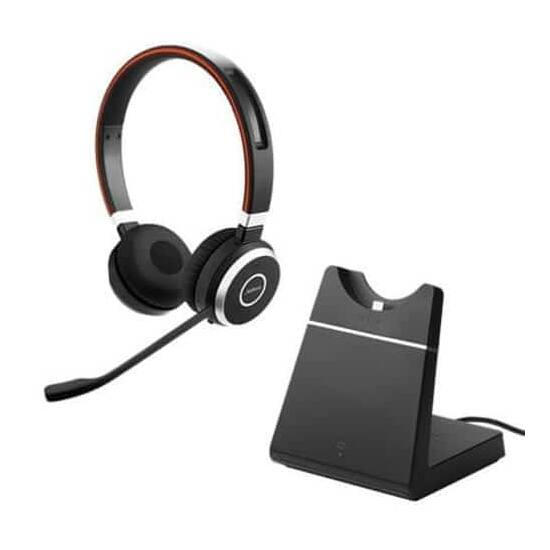 Jabra Evolve 65 MS Stereo incl. Charging stand & Link 370