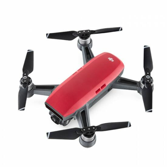 DJI SPARK drón (Lava Red) + ajándék Remote