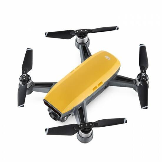 DJI SPARK drón (Sunrise Yellow) + ajándék Remote