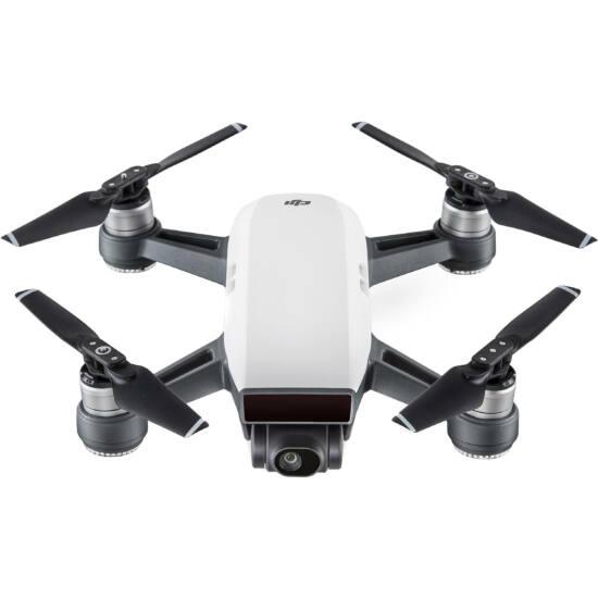DJI SPARK drón (Alpine White) + ajándék Remote