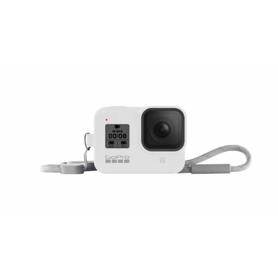 GoPro Sleeve + Lanyard (Hero8 Black) - White Hot