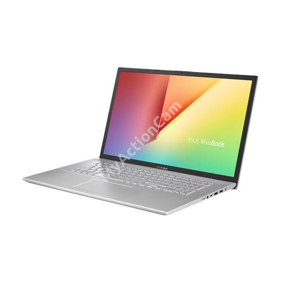 Asus  X712FA-AU602 ezüst 17 FHD   i7-10510U/8GB/256GB/Endless