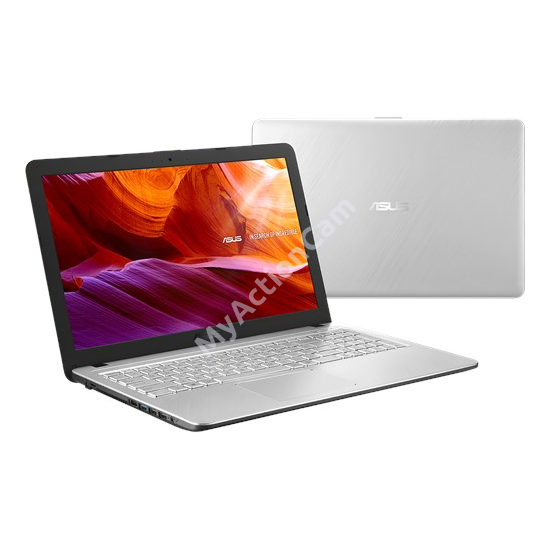 Asus  X543UB-DM1601 ezüst 15,6 FHD  i3-8130U/8GB/256GB/MX110 2GB/Endless