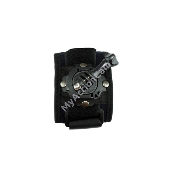 MAC 360° Rotating Wrist Mount GoPro-hoz