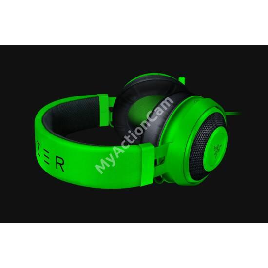 Razer Kraken Green Oval headset