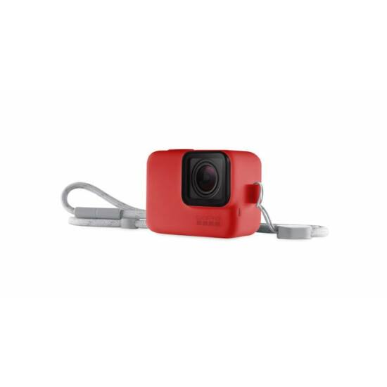 GoPro Sleeve + Lanyard - Red